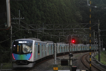 2017年9月18日、西吾野、40102Fの404レ。