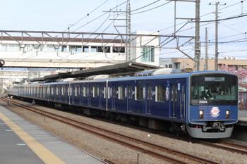 2018年4月12日、仏子、20104Fの1104レ。