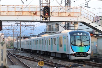 2018年4月28日 5時11分ころ、仏子、西武秩父から小手指へ戻る40101Fの上り回送列車。