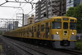 2018年5月9日、高田馬場~下落合、2007F+2411Fの4608レ。