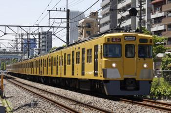 2018年5月14日、高田馬場~下落合、2405F+2055Fの2332レ。