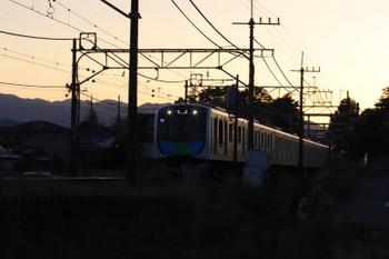 2018年5月19日 18時46分ころ、元加治、40000系の上り回送列車。
