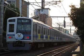 2018年6月3日 17時55分ころ、池袋~椎名町、6153Fの下り回送列車。土休日デーゲームダイヤの7062レ辺りの戻しでしょう。