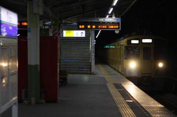 2018年6月14日 21時54分ころ、元加治、通過する2463F+2085Fの下り回送列車。