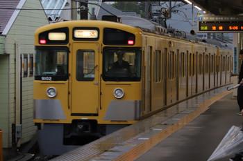 2018年6月16日 5時4分ころ、元加治、通過する9102Fの上り回送列車。