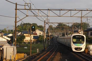2018年6月22日、元加治、38107F+32104Fの3102レ。一番列車。