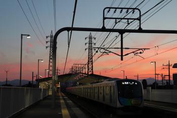 2018年6月24日、武蔵砂川、40105Fの5428レ。
