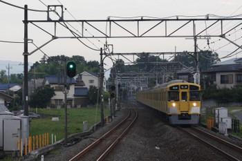 2018年7月13日、元加治、9105Fの3102レ。一番列車。