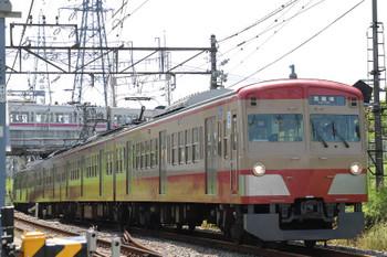 2018年4月29日、白糸台、1247Fの178レ。背後は京王線の、8000系でしょうか。