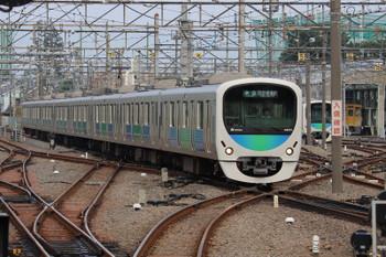 2018年7月22日、上石神井、38113Fの西武球場前ゆき準急・8603レ。