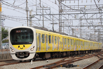 2018年7月22日、西所沢、38105Fの2143レ。