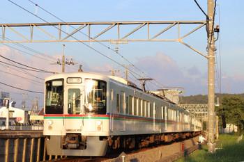 2018年7月29日 18時23分ころ、元加治、4019F+4013Fの下り回送列車。