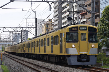 2018年8月2日、高田馬場〜下落合、2451F+2003Fの2644レ。