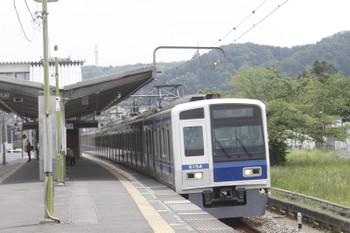 2017年5月7日 11時16分ころ、元加治、6154Fの下り回送列車。