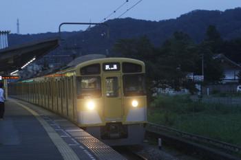 2017年8月26日 17時50分ころ、元加治、2071Fの下り回送列車。