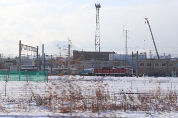 2017年12月11日 10時15分ころ、白石駅付近、札幌貨物ターミナル駅のHD300形による貨車入換。