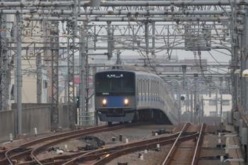 2018年8月5日、練馬駅ホームから、20153Fの5206レ。