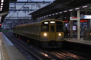 2018年8月7日 5時30分ころ、所沢、 2537F+2459Fの上り回送。