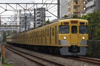 2018年8月9日、高田馬場~下落合、(<-新宿)2021F+2529Fの2332レ。