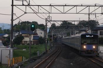 2018年8月10日、元加治、20102Fの3102レ。一番電車。