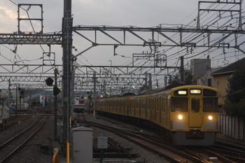 2017年9月5日 17時44分ころ、保谷、22番線から2番ホームへ入る9107Fの上り回送列車。17時46分発でした。