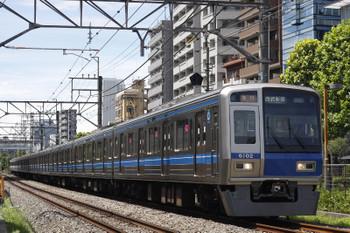 2018年8月15日、高田馬場~下落合、6102Fの2642レ。