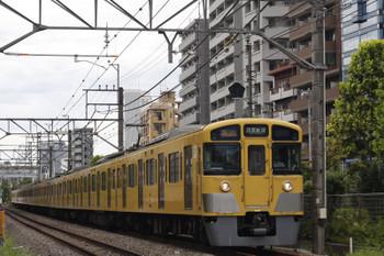 2018年8月16日、高田馬場~下落合、2061F+2409Fの2644レ。