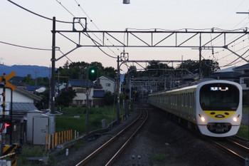 2018年8月17日、元加治、38105F+32102Fの3102レ。
