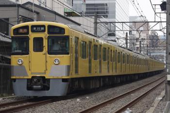 2018年8月29日、高田馬場~下落合、2515F+2033Fの2641レ。