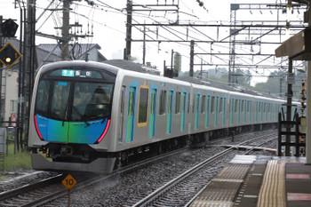 2018年9月1日、西所沢、発車した40104Fの4145レ。
