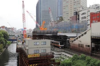 2018年9月1日11時ころ、御茶ノ水、駅の西側から。