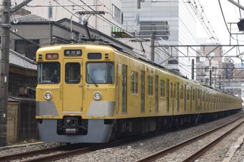 2018年9月6日、高田馬場~下落合、2000系2+8連の2641レ。