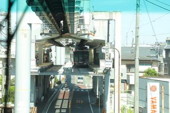 2018年8月26日 12時38分ころ、車内から到着する駅を撮影。