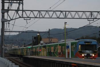 2018年9月16日 17時49分ころ、元加治、通過する20158Fの下り回送列車。