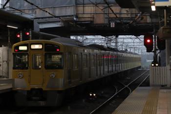 2018年9月17日 5時30分ころ、所沢、シングルアーム集電装置2049Fの上り回送列車。