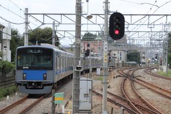 2018年9月24日 12時56分ころ、小平、1番ホームから発車した20155Fの下り回送列車。