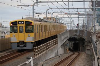 2018年10月8日 6時12分ころ、練馬、通過した2091Fの上り回送列車。