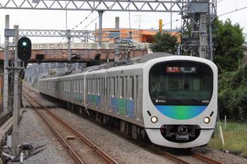 2018年10月13日、武蔵藤沢、32105F+38110Fの2136レ。