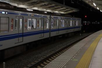 2018年10月14日、入間市、ケツメイシの6154Fは4146レも担当。10110Fの38レに追い抜かれました。
