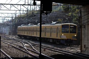 2018年10月20日 14時1分ころ、新秋津、西武線へ戻る263F。