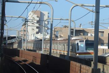 2018年11月10日 8時41分ころ、江古田~桜台、メトロ7001Fの3108レ。