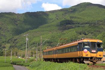 2018年9月9日 14時37分ころ、抜里~家山、元・近鉄特急の急行「奥大井」・金谷ゆき。