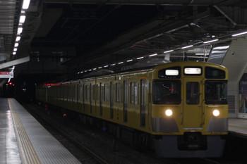 2018年11月20日 5時30分ころ、所沢、2535F+2419Fの上り回送列車。