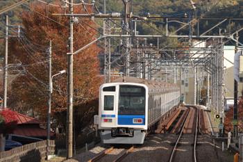 2018年11月23日 14時32分ころ、元加治~仏子、6110Fの上り回送列車。