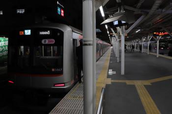2018年12月15日、所沢、東急5167Fの3701レと10109Fの29レ。