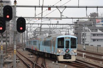 2018年12月23日 10時1分ころ、練馬、豊島園駅から上がってきた4009Fの上り回送。
