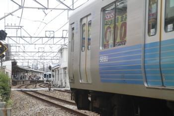 2017年7月2日 11時1分ころ、都立家政、通過する4009Fの下り列車。