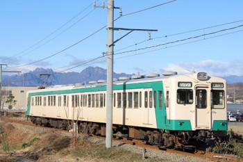 2019年1月2日 9時31分ころ、上州福島~東富岡、下仁田ゆき。