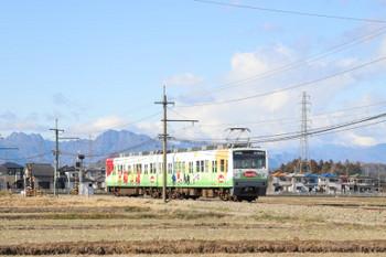 2019年1月2日 11時17分ころ、西吉井~吉井、(<-高崎)1201+1001の下仁田ゆき。