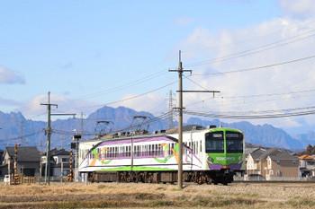 2019年1月2日 11時23分ころ、西吉井~吉井、上州富岡始発の(<-高崎)504+503の高崎ゆき。